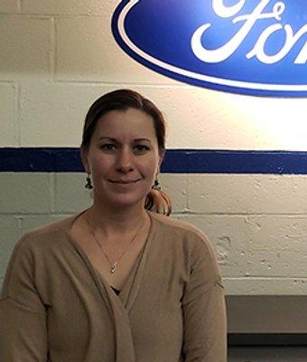 Service Advisor Jenn Duffy in Service at Len Stoler Ford