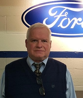 Service Director Mike Nestor in Service at Len Stoler Ford
