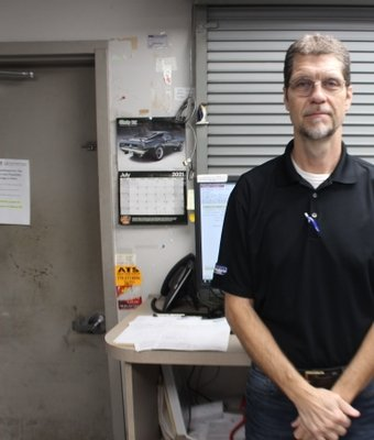 Parts Counter Johnny Jackson in Staff at Shottenkirk Ford Jasper