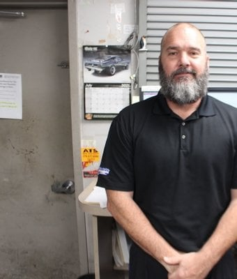 Parts Manager Brian Syme in Staff at Shottenkirk Ford Jasper