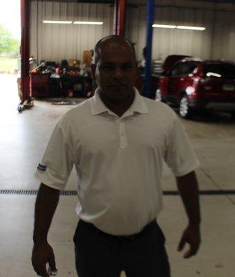Fixed Ops Director Renold Bridgemohan in Staff at Shottenkirk Ford Jasper