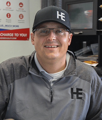 Sales Manager Chad Martz in IMPORTS SALES TEAM at Herb Easley Motors