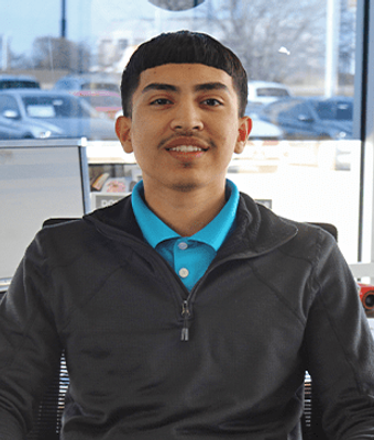 Sales Representative Nelson Castillo in IMPORTS SALES TEAM at Herb Easley Motors