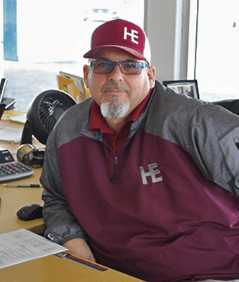 Sales Manager Rocky Young in NEW CHEVROLET SALES TEAM at Herb Easley Motors