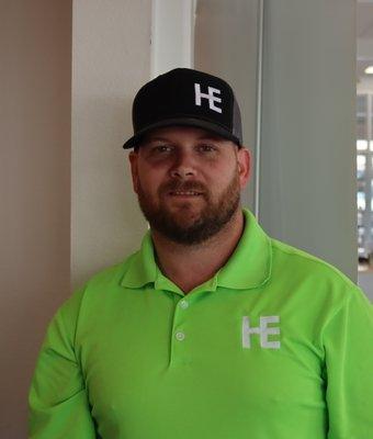 Sales Representative Jesse Hail in CHEVROLET SALES TEAM at Herb Easley Motors