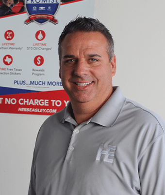 Service Manager Michael Williams in FIXED-OPS TEAM at Herb Easley Motors
