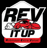 RevItUp Logo for Robinson
