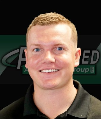 Business Manager Jake Leonard in East St. Blvd. at Preferred Automotive Group