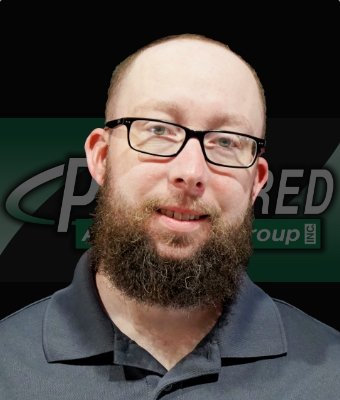 Parts Manager Chad Shermer in Lima Road Service at Preferred Automotive Group