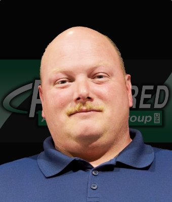 Finance Manager Chris Fish in Lima Road at Preferred Automotive Group