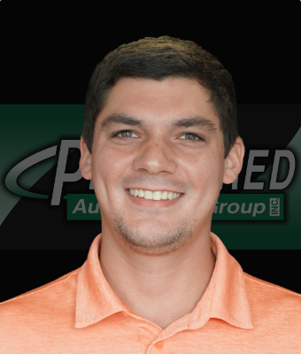 Sales Consultant Alex Cahill in East St. Blvd. at Preferred Automotive Group