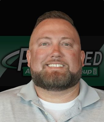 Business Manager Ryan Dillon in Illinois Road at Preferred Automotive Group