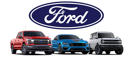 Some of the Ford vehicles for sale here at Rusty Eck Ford