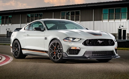 Ford Mustang Reveals Limited-Edition Mustang Mach 1 With New Handling Package