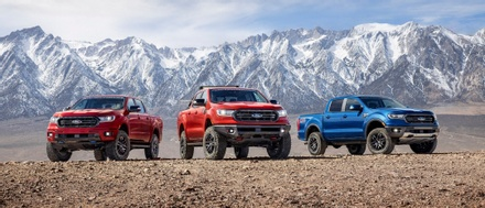 New Off-Road Ford Ranger Tremor Package