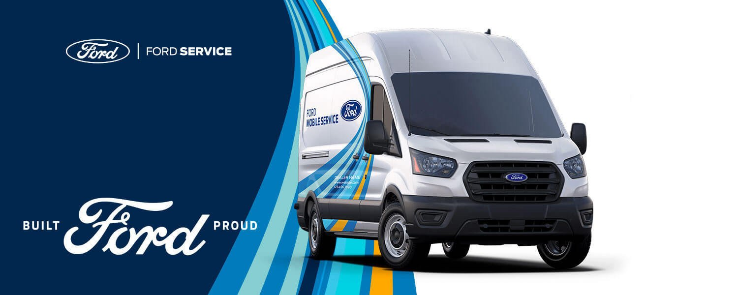 Ford Mobile Service Van Banner - Mullinax Ford of Central Florida