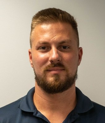 Service Advisor Josh Bourget in Service at Mullinax Ford of West Palm Beach