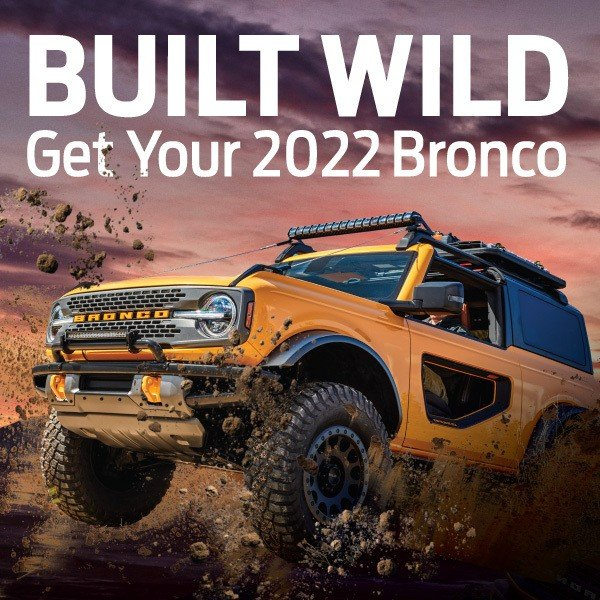 Special offer on 2020 Ford EcoSport 2022 Bronco
