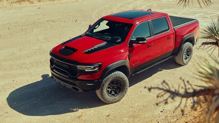 Ram 1500 TRX Earns 2021 Pickup Truck of the Year Award from FOUR WHEELER