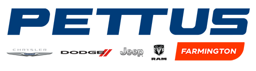 Pettus Chrysler Dodge Jeep Ram Farmington Logo Main