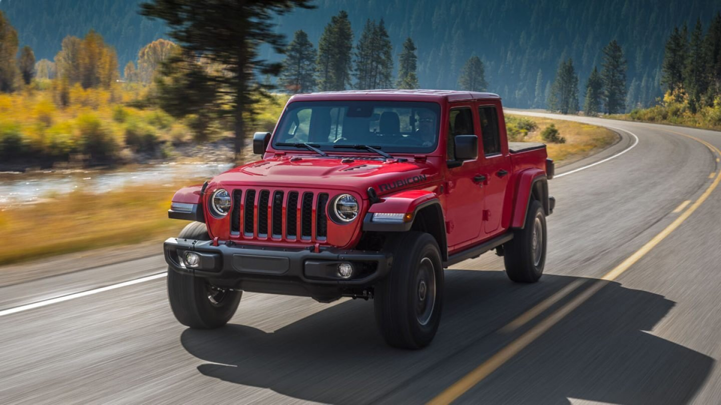 2020 Jeep® Gladiator And 2020 Ram Power Wagon Win The Gold Winch Award From The Fast Lane Truck