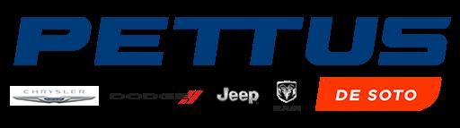 Pettus Chrysler Dodge Jeep Ram De Soto Logo Main