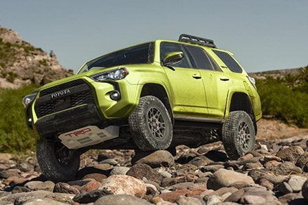 2022 Lime Toyota 4Runner TRD Sport available here at Westbury Toyota on Long Island, NY.