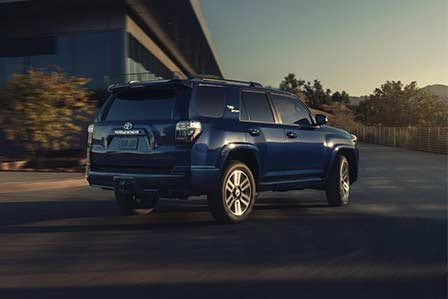 Blue 2021 Toyota 4Runner TRD for sale or lease on Long Island, NY.