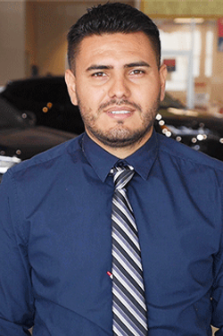 Sales Consultant Javier Martinez in Sales at Westbury Toyota