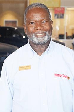 Sales Consultant Trevor Panton in Sales at Westbury Toyota