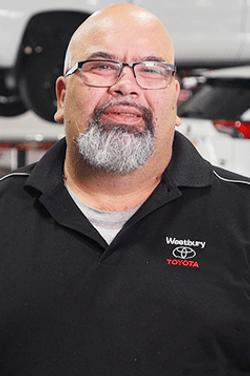 Service Advisor Jorge Guzman in Service & Parts Team at Westbury Toyota