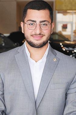 Sales Consultant Omar Maklad in Sales at Westbury Toyota
