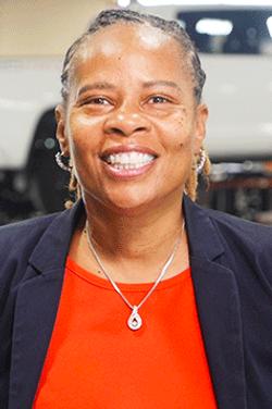 Receptionist Cherise Howard in Service & Parts Team at Westbury Toyota