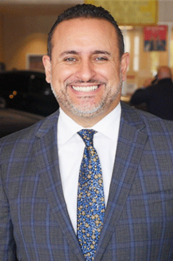 Sales Manager Luis Valdes in Sales Management at Westbury Toyota