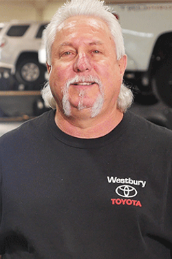 Parts Specialist Paul Kandell in Service & Parts Team at Westbury Toyota