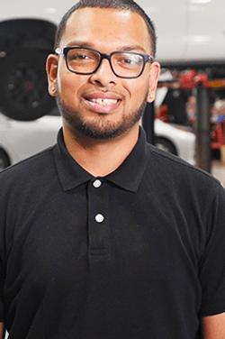Service Advisor Raziq Raouff in Service & Parts Team at Westbury Toyota