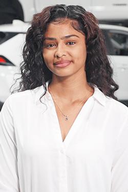 Customer Service Representative Yanilsa Peralta in Service & Parts Team at Westbury Toyota