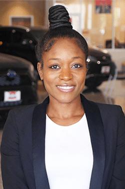 Internet Sales Coordinator Jennelle McKenzie in Internet Sales at Westbury Toyota