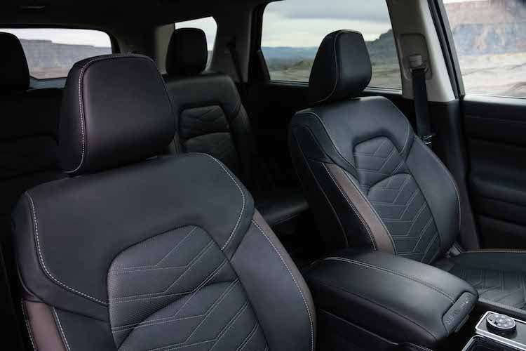 2022 Nissan Pathfinder 2nd and 3rd Row