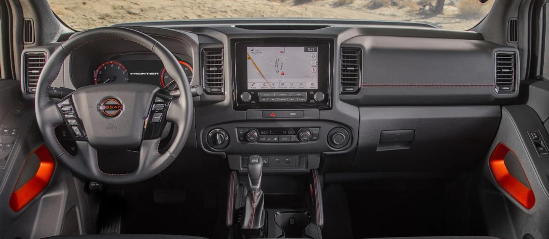 2022 Nissan Frontier Dashboard