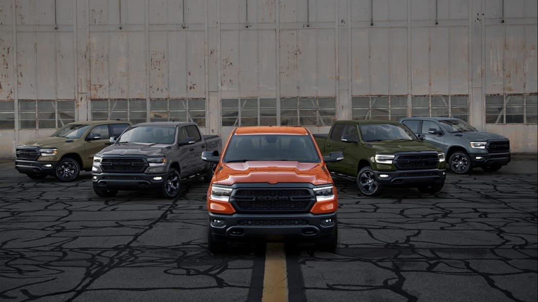 """5th Ram """"Built to Serve"""" Edition to Commemorate Courage and Bravery of the Coast Guard"""