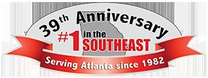 39th anniversary logo