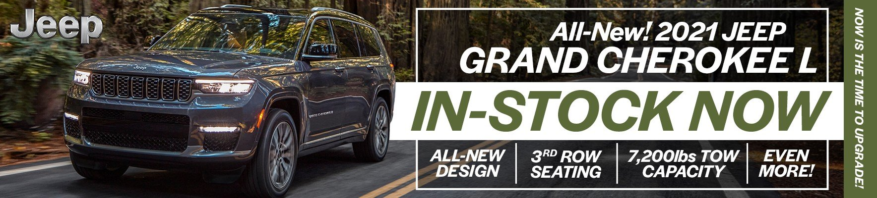 The All-New Jeep Grand Cherokee L is In-Stock Now