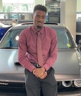 Sales Consultant Andre Tyler in Sales at Landmark Dodge Chrysler Jeep Ram