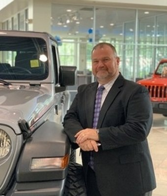 Sales Manager Chuck McCall in Sales Management at Landmark Dodge Chrysler Jeep Ram