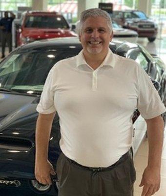 Sales Consultant Russ Thomas in Sales at Landmark Dodge Chrysler Jeep Ram