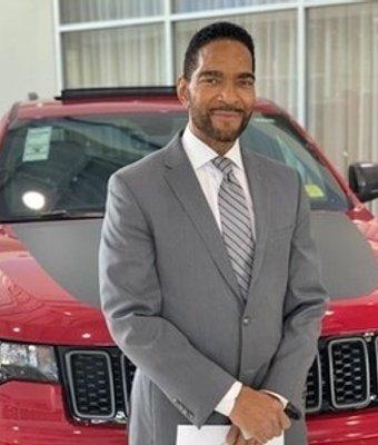 Sr. Sales Consultant Michael Winfree in Sales at Landmark Dodge Chrysler Jeep Ram