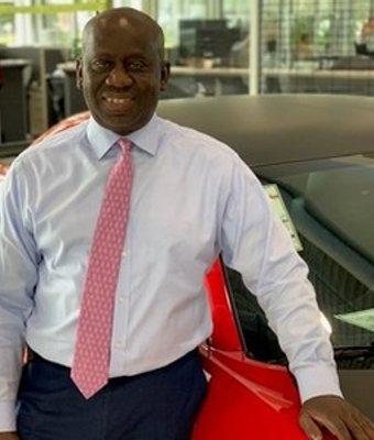 Sales Consultant Farimang Ceesay in Sales at Landmark Dodge Chrysler Jeep Ram