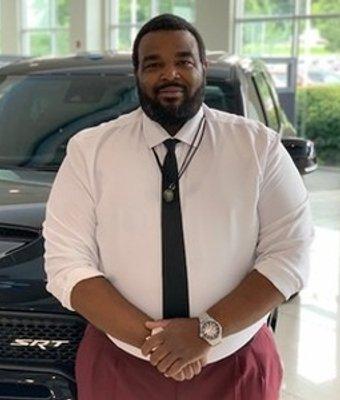 Sales Consultant Antoine Strong in Sales at Landmark Dodge Chrysler Jeep Ram