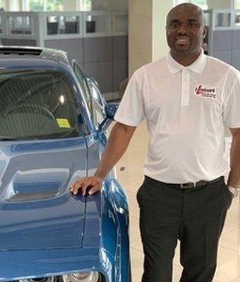 Sales Consultant Ok Achigbu in Sales at Landmark Dodge Chrysler Jeep Ram